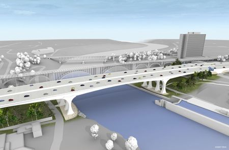 New 35W Bridge Rendering
