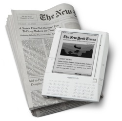 Amazon Kindle with New York Times