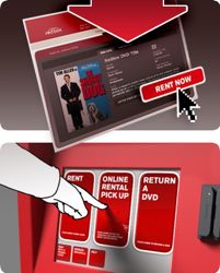 Redbox Online Rental and Pick-Up