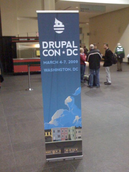DrupalCon DC Lobby Poster