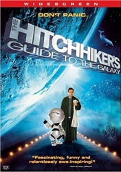 The Hitchhiker's Guide to the Galaxy DVD Cover Art